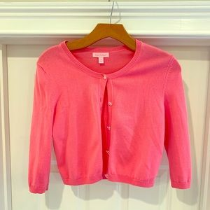 Lilly Pulitzer Cropped Cardigan